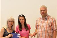 Nikolina Šelember iz Podgorja, tisućiti upisani student u Visokoj školi u Vitovitici