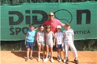 "Na teniskim igralištima TK Didon odigran ""Mini tenis kup - Didon 2012"""