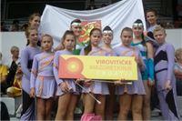 Vrlo dobri rezultati Virovitičkih mažoretkinja na IX Europskom prvenstvu mažoret i pom-pon timova