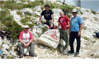 Orahovčani se popeli i na drugi najveći vrh u Hrvatskoj