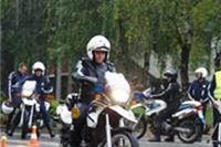 Natjecanje u vožnji i spretnosti policajaca motorista