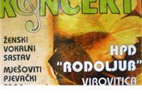 Rodoljubaši Virovitičanima poklanjaju koncert
