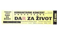 """Humanitarni koncert """"Dar za život"""""""