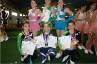 U Banjaluci Virovitičke mažoretkinje osvojile sedam zlatnih medalja