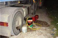Iz parkiranog kamiona ukradeno 300 litara dizela