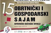 Na Obrtničkom i gospodarskom sajmu u Križevcima 18 izlagača iz Virovitičko-podravske županije