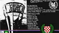 """Pješice od Čačinaca do Vukovara – """"Stopama Željka Majora"""""""