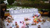 Humanitarni prosvjed igračkama