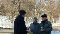 Forum mladih SDP-a građanima darivao pšenicu