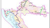 Virovitica kao županijsko središte najudaljenija od suvremenih cestovnih prometnica