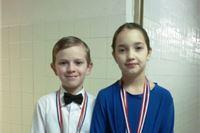 Dvije medalje  za  Lea i Emmu