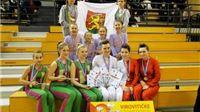 Virovitičke mažoretkinje prošle kvalifikacije za Europsko prvenstvo 2013.