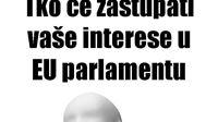 Obavezno treba izaći na izbore za EU Parlament - na listić dopisati NITKO, i zaokružiti!