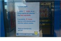 U nedjelju zatvorene sve Lidlove trgovine, pročitajte zašto!