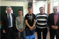 Dražvno natjecanje - Industrijsko-obrtnička škola Slatina  2. mjesto za vodoinstalatere