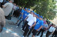 Otvaranje kružnog toka u Slatini - HDZ-ova promidžbena kampanja