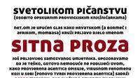 Sitnu prozu Davora Shunka otkupilo Ministarstvo kulture, a u Virovitici proglašena pornografijom