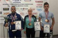 """Uspješan nastup Powerlifting kluba """"Spartak"""" iz Virovitice na međunarodnom natjecanju u Bjelovaru"""