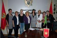 Studijsko putovanje tima za prevenciju i suzbijanje obiteljskog nasilja u Crnu Goru
