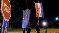 Na Graničnom prijelazu Terezino Polje podignuta zastava EU