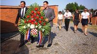 Polaganjem vijenaca obilježen Dan pobjede i domovinske zahvalnosti te Dan hrvatskih branitelja