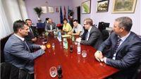 Delegacija Ministarstva poljoprivrede, šumarstva i ruralnog razvoja Republike Kosovo kod župana Tolušića