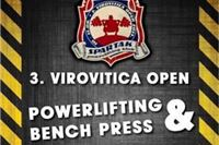 3.Virovitica Open BENCH PRESS & POWERLIFTING