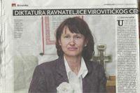 Diktatura ravnateljice virovitičkog Centra za rehabilitaciju