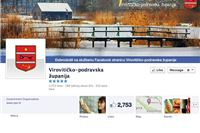 Virovitičko-podravska županija i na službenoj Facebook stranici