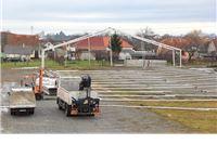 Počelo opremanje sajamskog prostora Viroexpo 2014.