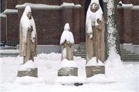 Zimsko ruho Slatine u objektivu Dragutina Fišlija