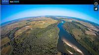 Virtualne rute: pogledajte kako županija izgleda iz zraka