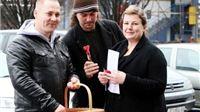 Mladi Hrvatske seljačke stranke Slatine darovali svoje sugrađane