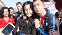 Aktivisti Živog zida tijelima spriječili deložaciju Marijane Fel