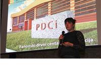 "Natalija Havidić na Tjednu dizajna u Zagrebu predstavila projekt ""Panonski drvni centar kompetencija"""