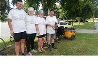 Na putu za Međugorje biciklima, poljska obitelj zaustavila se u Virovitici