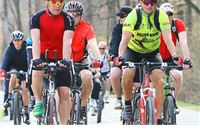 Biciklistička vožnja od Slatine do Bizovca i natrag