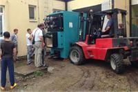 U OŠ Davorin Trstenjak u Čađavici započela montaža peći na pelete