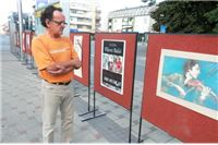 Postavljena prva izložba na otvorenom u Slatini