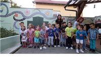 U Dječjem vrtiću Suncokret otkiven zidni mural