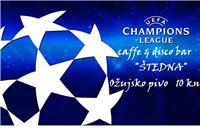 Od utorka do četvrtka u Štednoj: Drugo kolo Lige prvaka i Europska liga