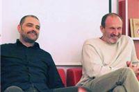 Davor Šunk i Robert Mlinarec u Drštvu Virovitičana