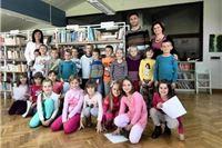U Mjesecu hrvatske knjige Učenici 1.a razreda O.Š. Eugena Kumičića postali članovima školske knjižnice