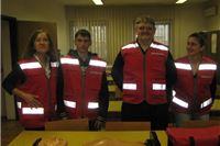 Volonteri Crvenog križa za intervente timove