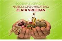 """Nastavak projekta """"Zlata vrijedan"""" – izbor najboljeg obiteljskog poljoprivrednog gospodarstva"""