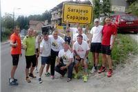 Hrvatski maratonci istrčali 270 km ususret papi Franji /Fotogalerija