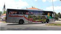 Autobus Čazmatransa s motivima Virovitice