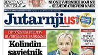Jutarnji list otkriva detalje aferi Poreznica: Radeljić: Biljana Borzan će zvati Zagreb da ne rade probleme oko duga