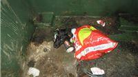 Vezao kujici noge, stavio je u dvije plastične vrećice i bacio u kontejner za komunalni otpad