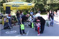 Natjecanje djece u vožnji biciklom